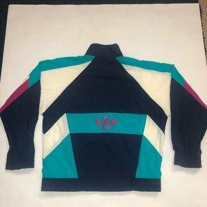 80's 90's vintage ADIDAS windbreaker zip up